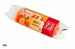 Worki na śmieci 25L z aromatem pomarańczy