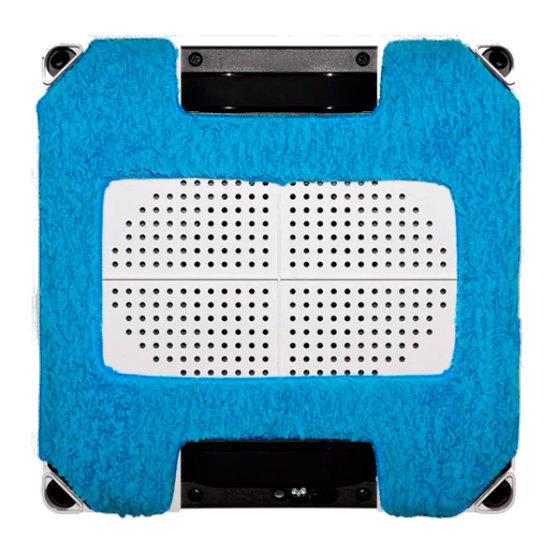 Zestaw ściereczek do Hobot 268/288 - niebieskie