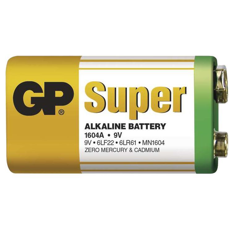 Bateria GP Alkaline 9V