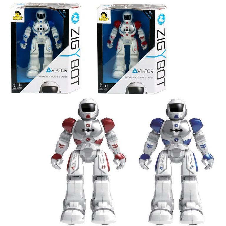 Robot Viktor - czerwony