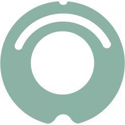 Pokrywa iRobot Roomba 500 i 600 - zielona
