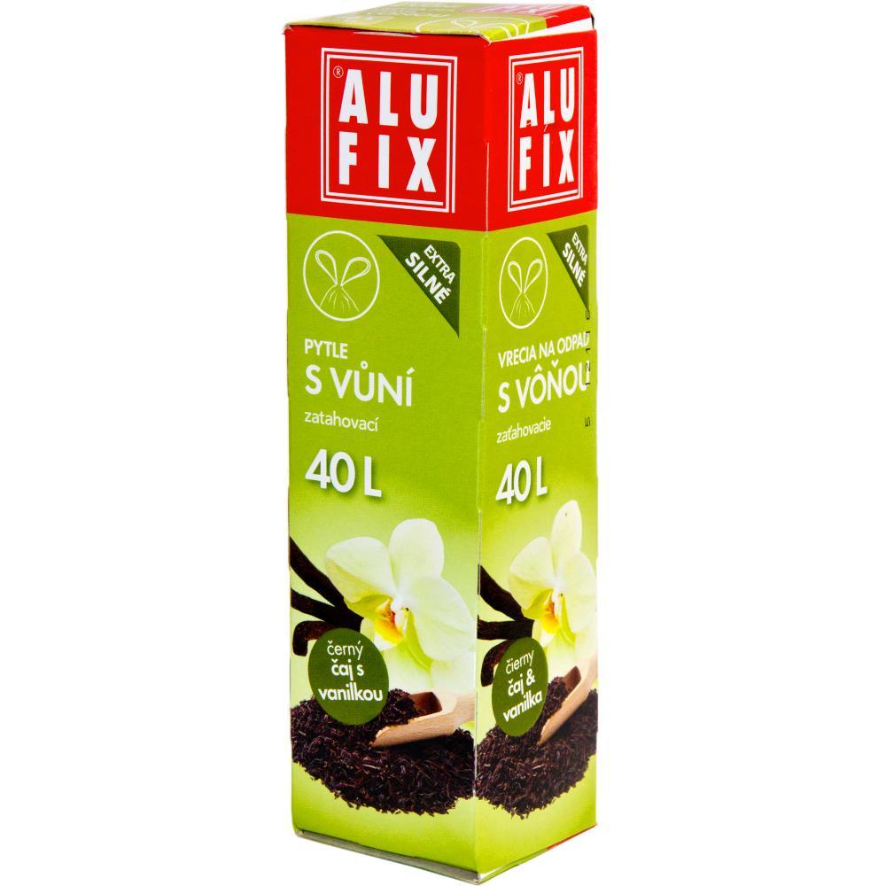 Worki na śmieci 40L z taśmą zamykającą - aromat herbata z wanilią
