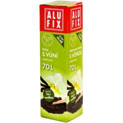 Worki na śmieci 70L z taśma zamykającą - aromat herbata z wanilią
