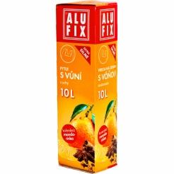 Worki na śmieci 10L z uszami aromatyzowane - mandarynka