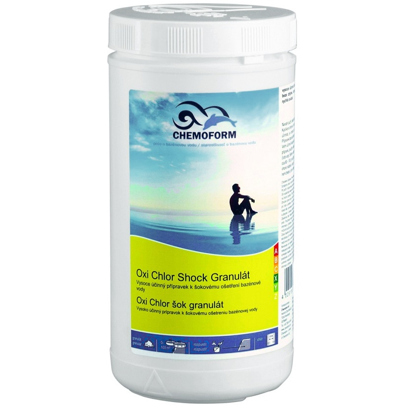 Chemoform Oxi Chlor Shock granulat - 1 kg