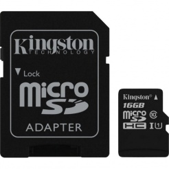 Kingston microSDHC 16GB UHS-1 90R/45W