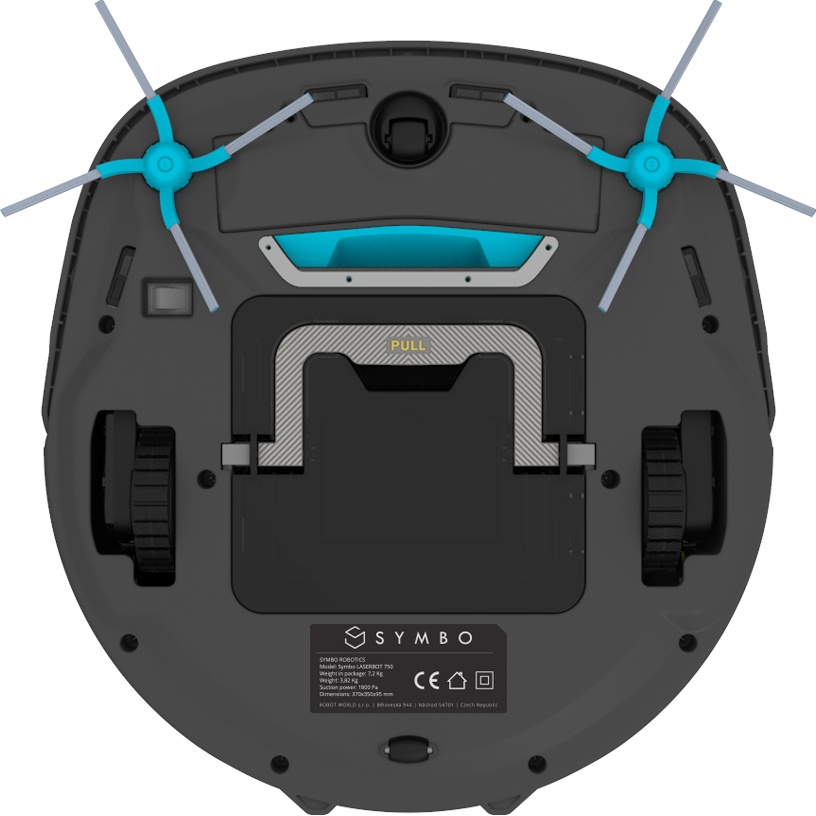 Symbo LASERBOT 750 WiFi + mop