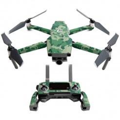 Skórka DJI Mavic 2 - Forest Digital Camouflage