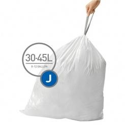 Worki na śmieci typu J Simplehuman - 20 szt.