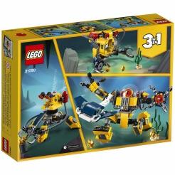 LEGO Creator 31090 Podwodny robot 3w1