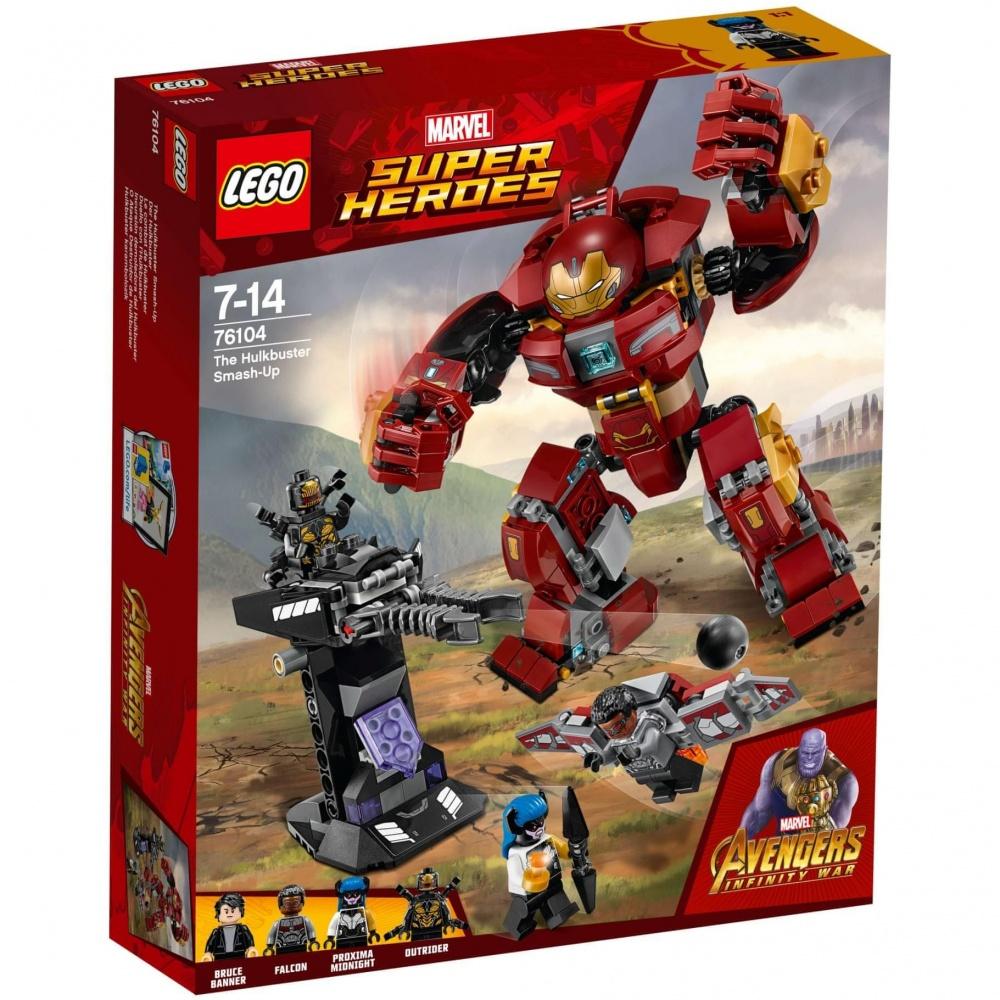 LEGO Super Heroes 76104 Walka w Hulkbusterze