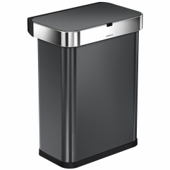 Simplehuman RECTANGULAR 58L - black