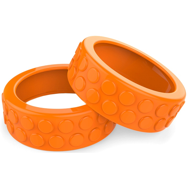 Sphero Ollie Nubby opony - pomarańczowe