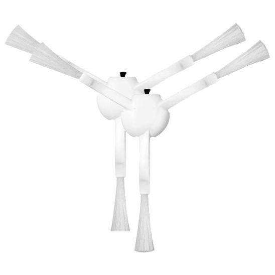 Szczotki boczne do Xiaomi Mi Robot Mop 1C - white 2 szt.
