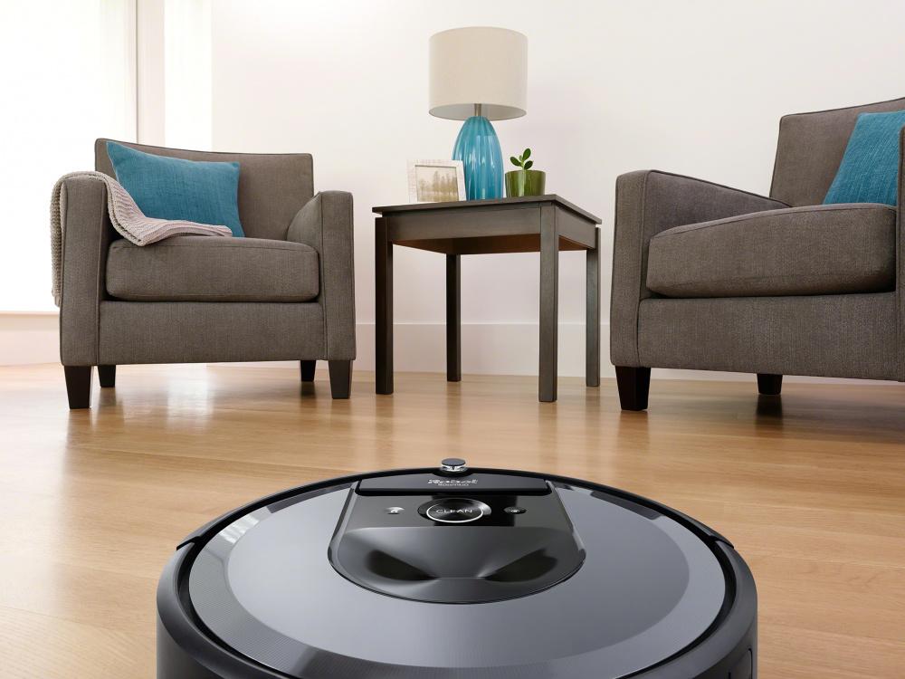iRobot Roomba i7 silver WiFi