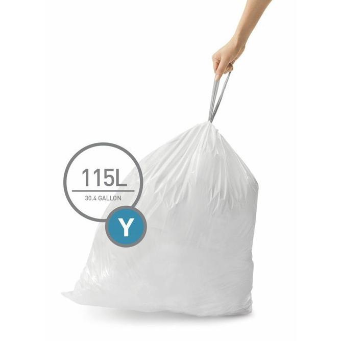 Worki typu Y do koszy na śmieci Simplehuman – 1 szt.