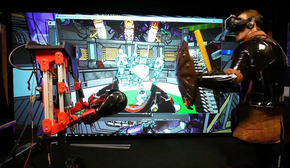 Robot, który uderzy Cię nie tylko w świecie wirtualnym, ale także w rzeczywistości