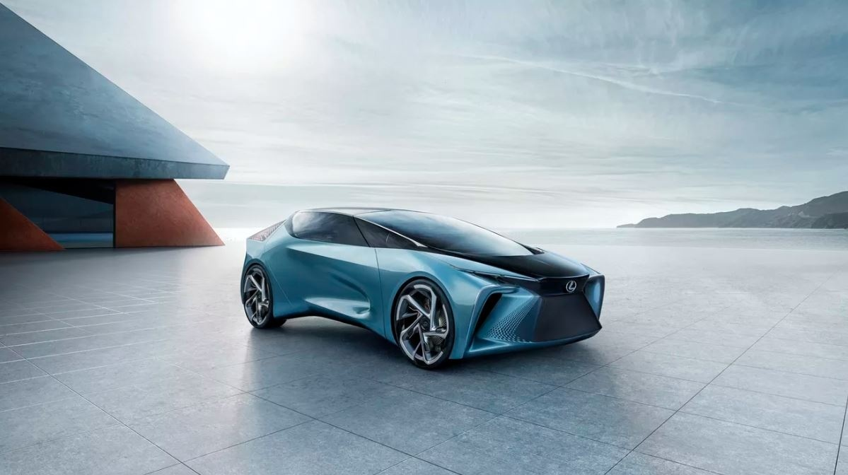 Lexus prezentuje swoją wizje elektrycznego auta przyszłości