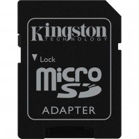 Kingston microSDHC adapter