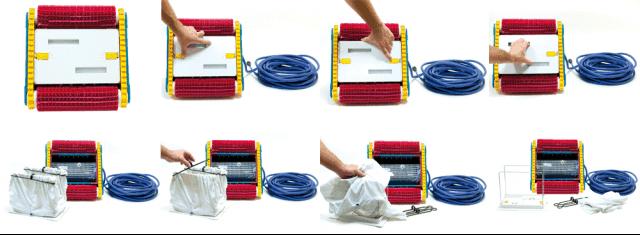 Łatwo dostępna torba filtracyjna
