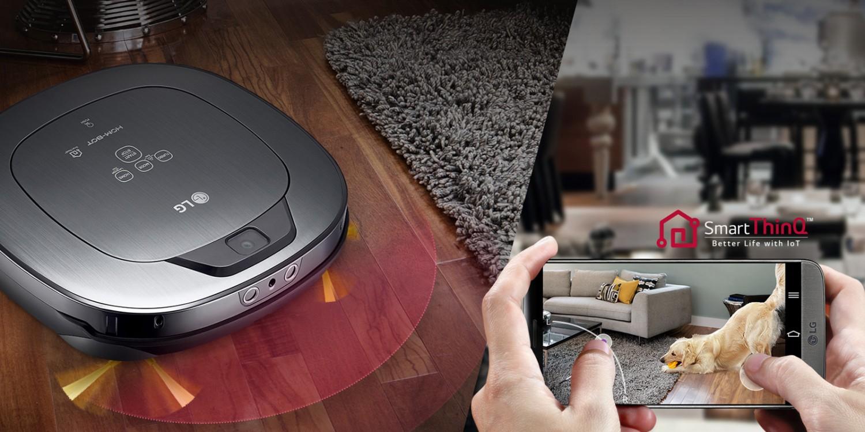 Smart ThinQ - zrobotyzowane gospodarstwo domowe od LG