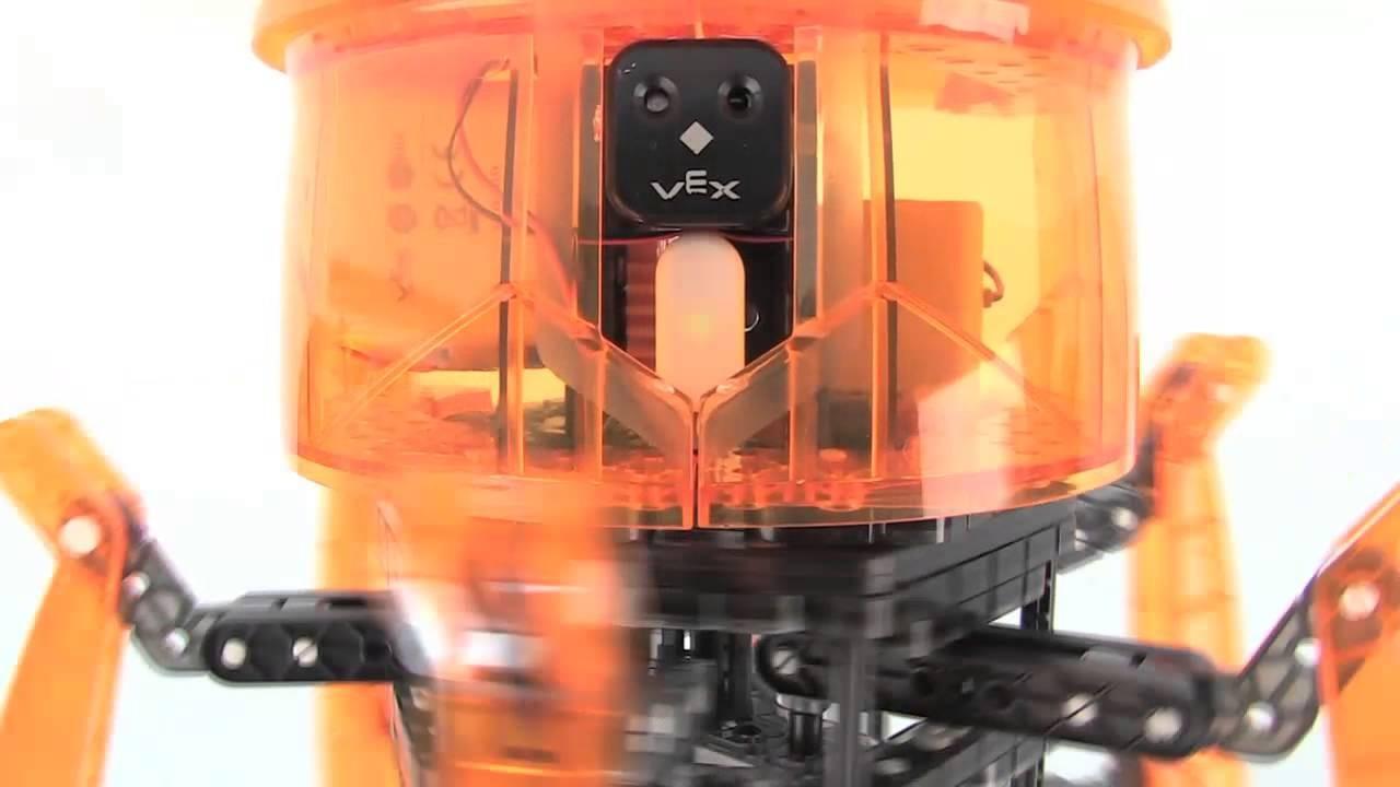 Przedstawiamy robota zabawkę HEXBUG VEX - Pająk