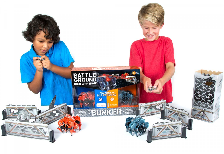 Przedstawiamy roboty zabawki HEXBUG Battle Tarantula - Zestaw bunkrów