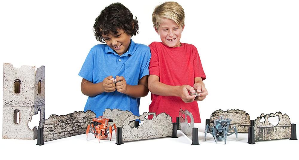 Przedstawiamy robota zabawkę HEXBUG Bojowy pająk 2.0 Tower set
