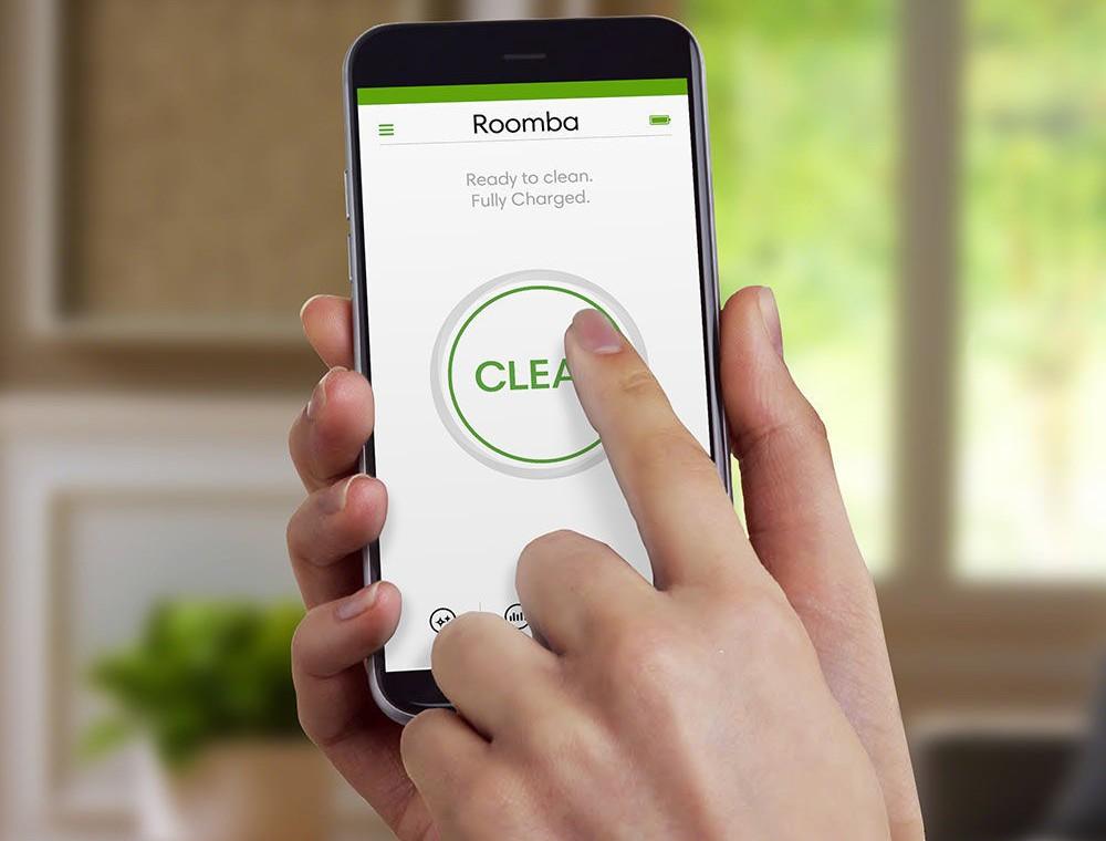 Funkcja WiFi z aplikacją mobilną iRobot HOME