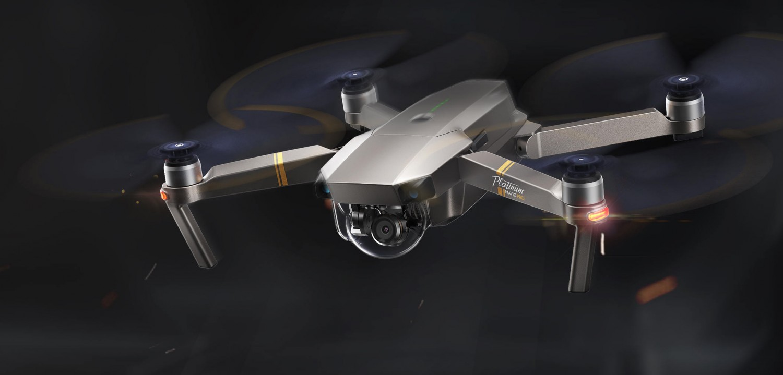 Prezentacja drona DJI Mavic Pro Platinum