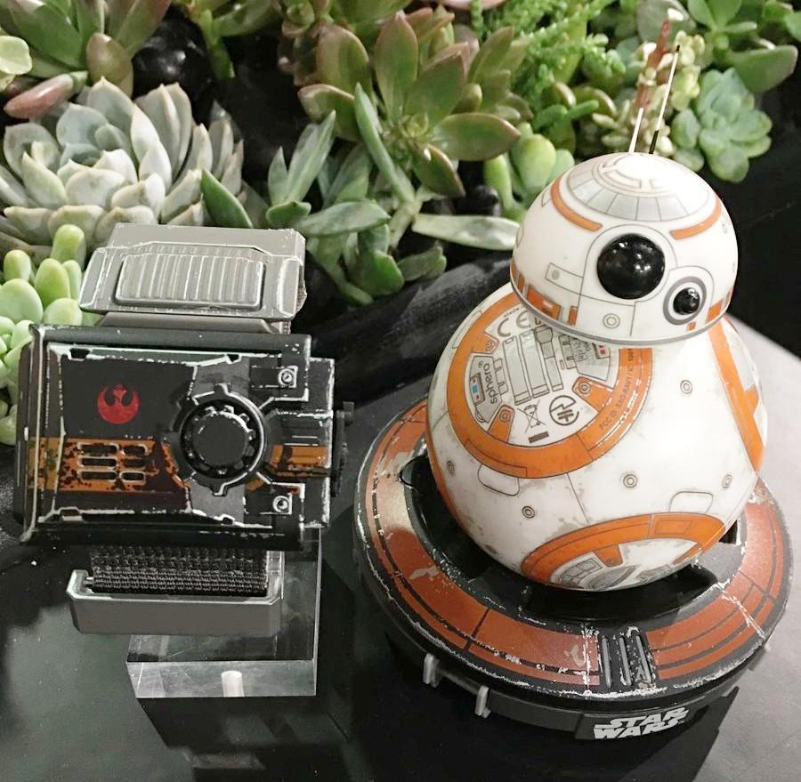 Prezentacja specjalnej edycji Sphero BB-8 Star Wars + Force Band
