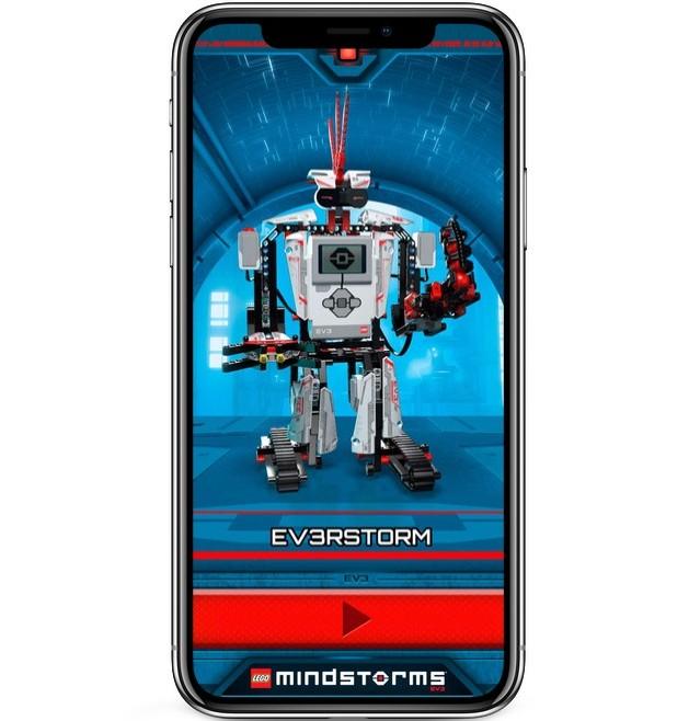 Wprowadź zadania dla robotów i wyślij je do misji LEGO Commander: