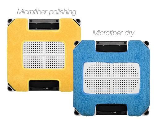 Dwa rodzaje ściereczek z mikrofibry