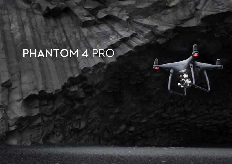 Prezentacja drona DJI Phantom 4 Pro Obsidian Edition