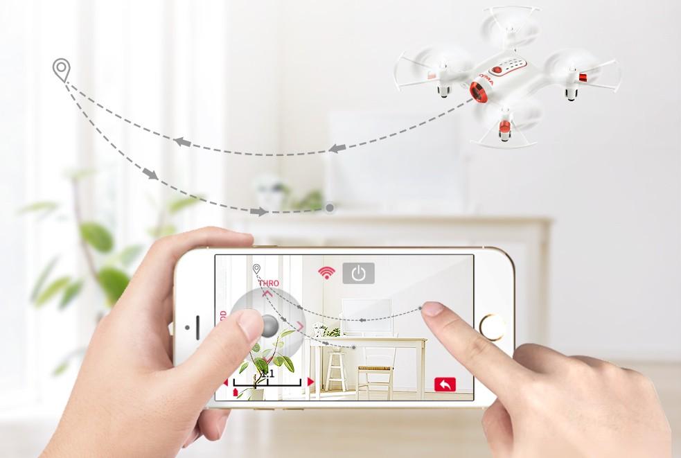 Połącz kamerę z telefonem komórkowym za pomocą aplikacji SYMA FPV
