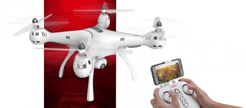 Połączenie kamery z telefonem komórkowym za pomocą aplikacji SYMA FPV