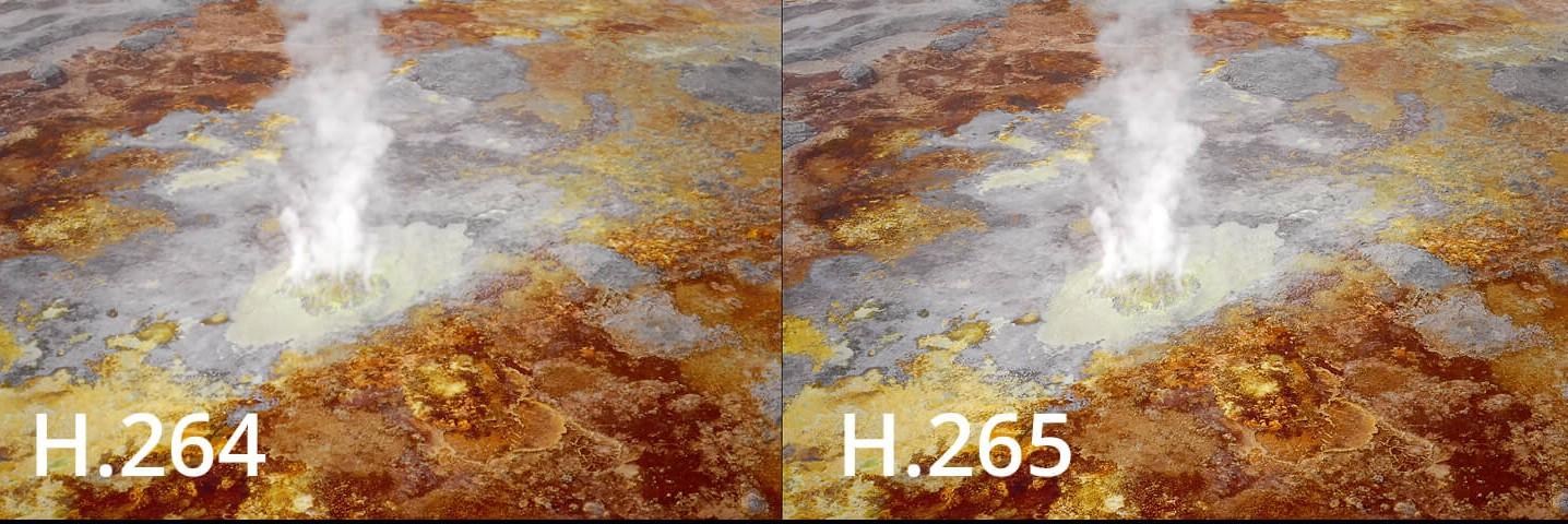 Kodek H.265 dla wyższej jakości obrazu
