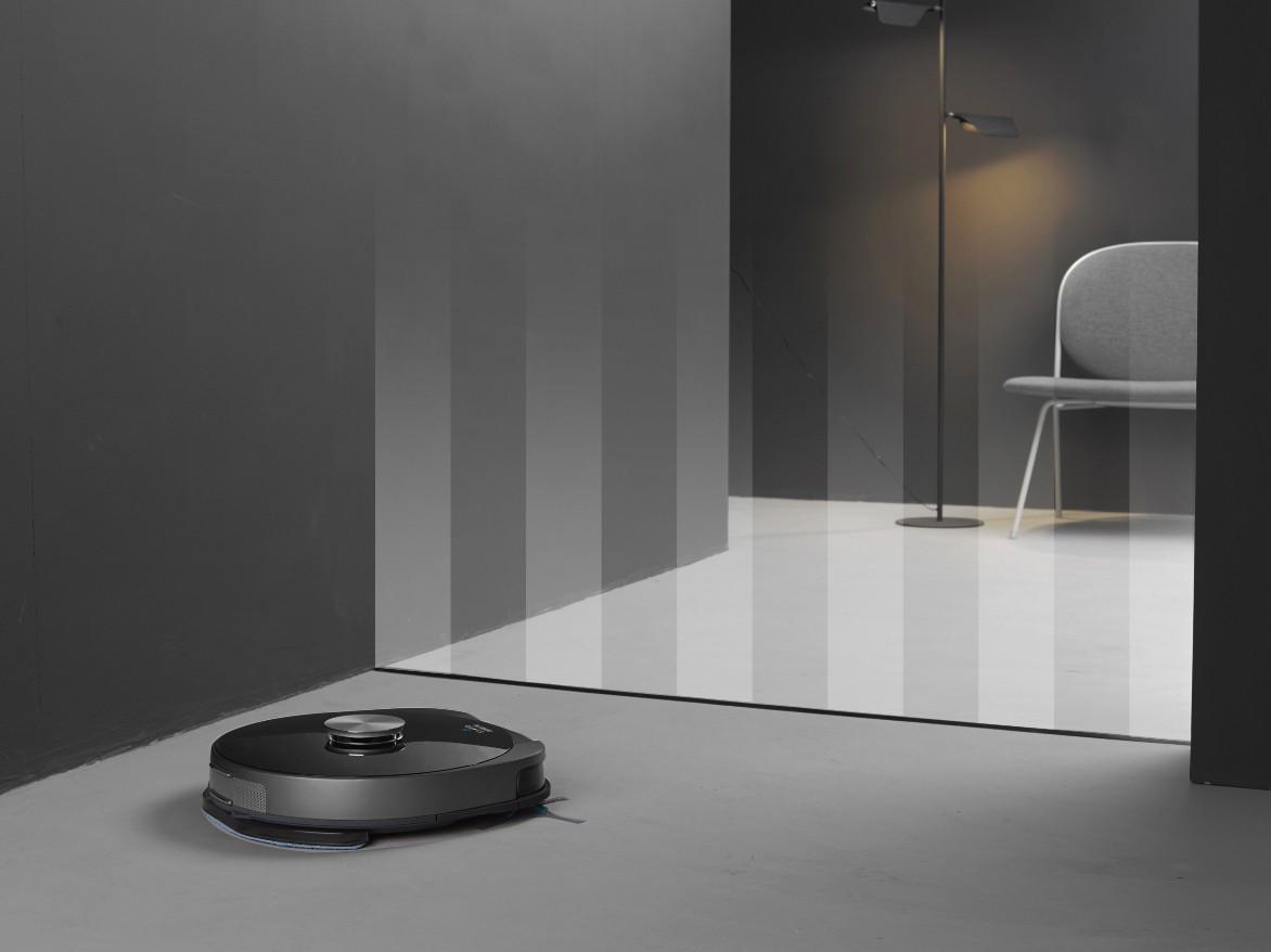 Taśma graniczna i wirtualne ściany, aby zdefiniować obszar czyszczenia
