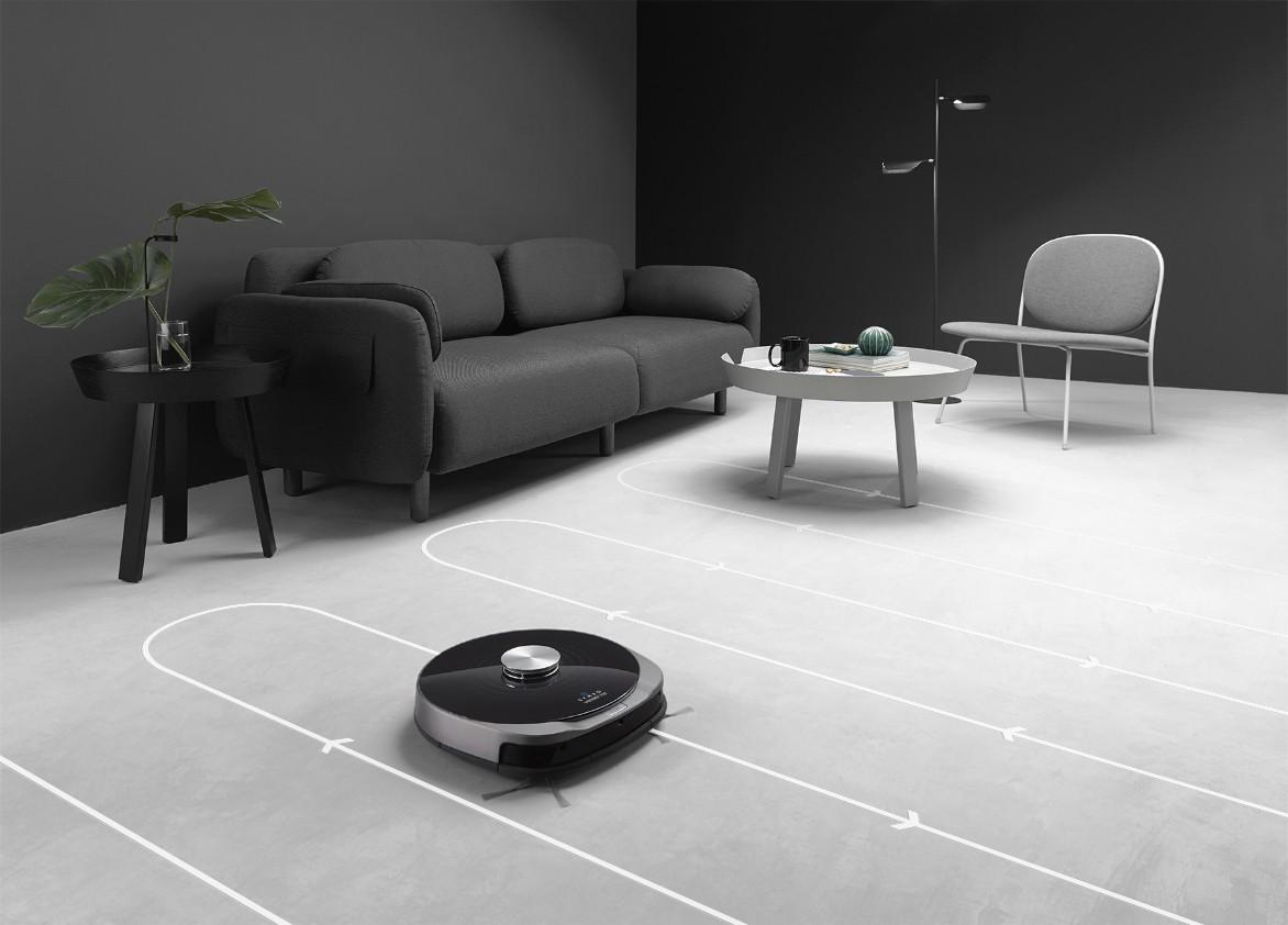 Systematyczne czyszczenie za pomocą nawigacji laserowej