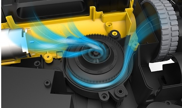 Mocny silnik NIDEC