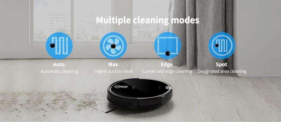 4 tryby sprzątania