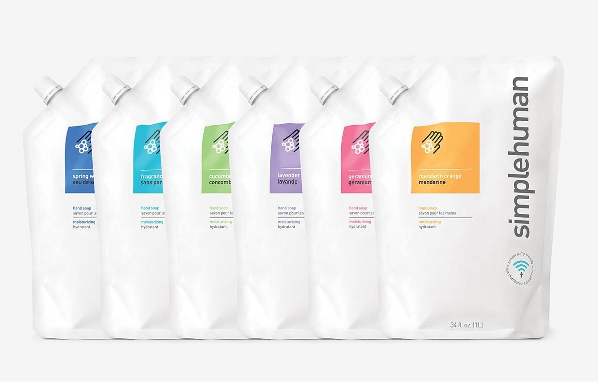 Najlepsze mydła od Simplehuman