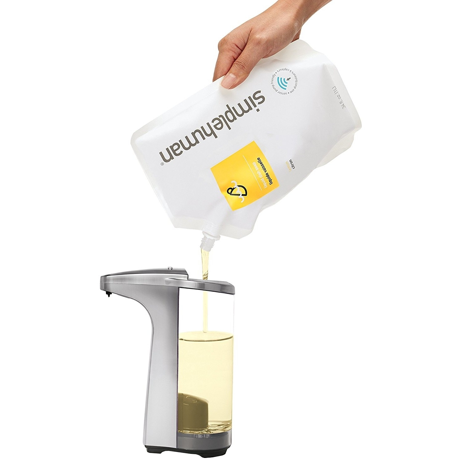 Łatwe uzupełnianie detergentu