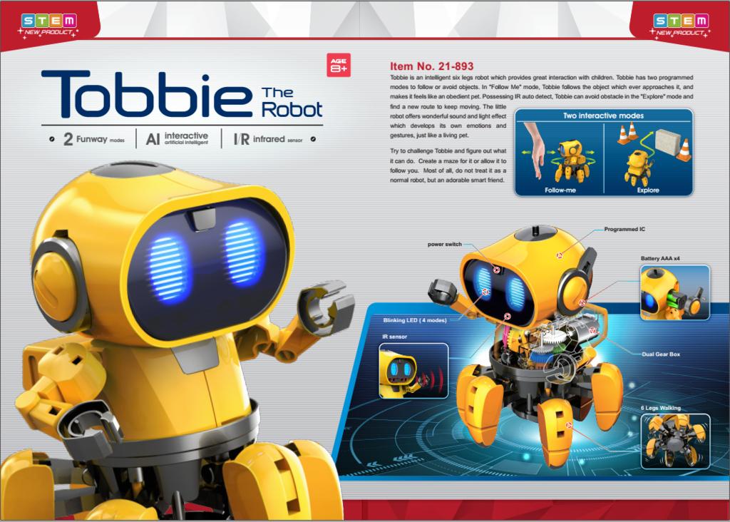 Prezentacja Robota Tobbie