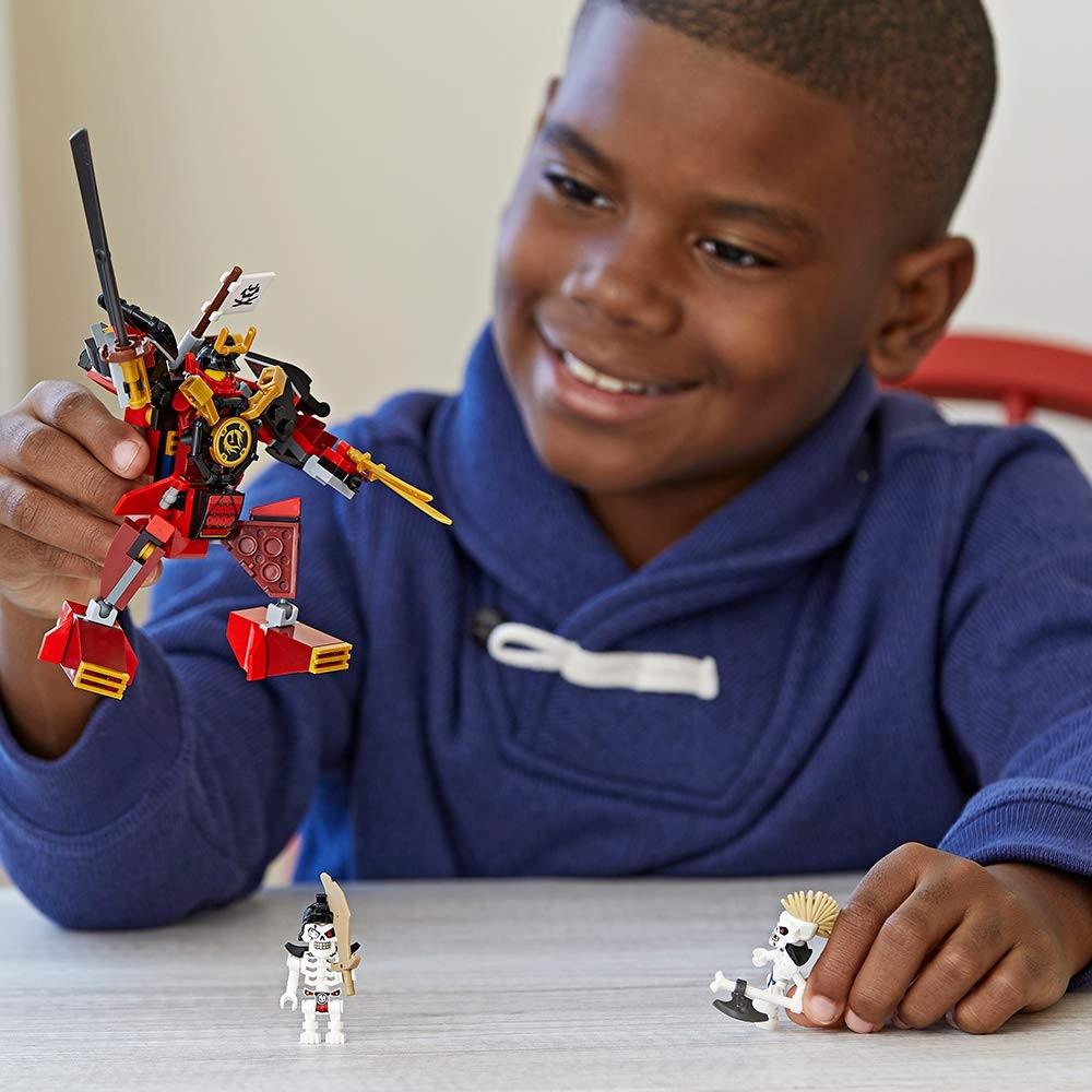 Prezentacja składanki LEGO Ninjago 70665 Mech - samuraj
