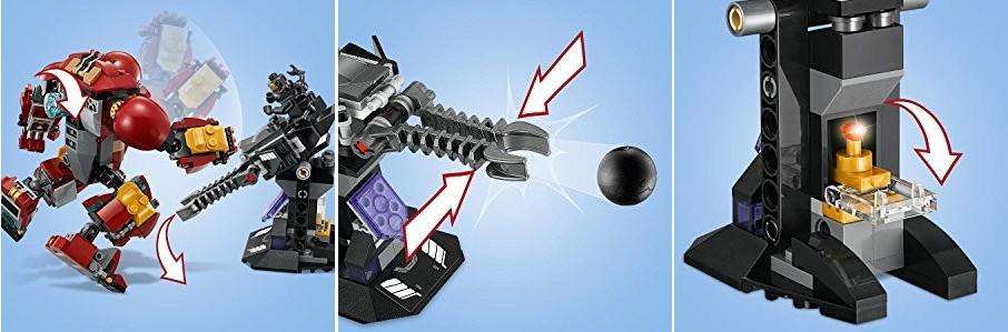 Hulkbuster, strzelnica