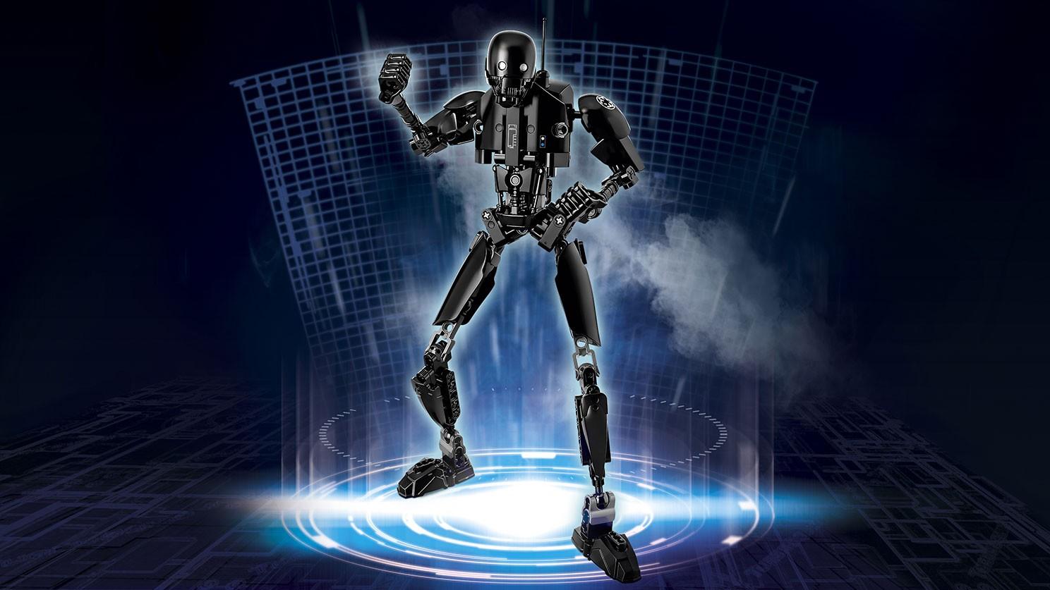 Prezentacja składanki LEGO Star Wars 75120 K-2SO