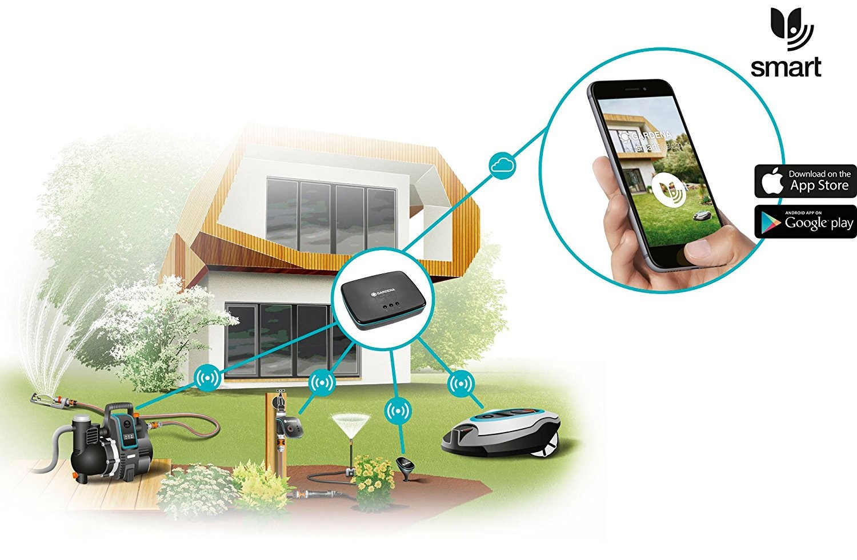 Gardena Gateway do podłączenia do systemu smart
