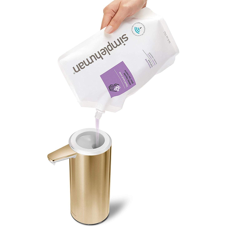 Łatwe napełnianie mydłem
