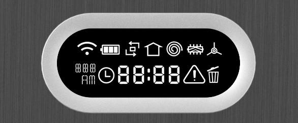 Wyraźny wyświetlacz LCD